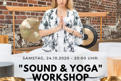 Yin Special: Soothing Yin meets magic Sound mit Anke 24.10. 20:00-22:00