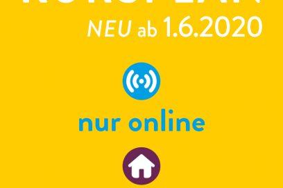 Kursplan ab dem 1.6. online und offline