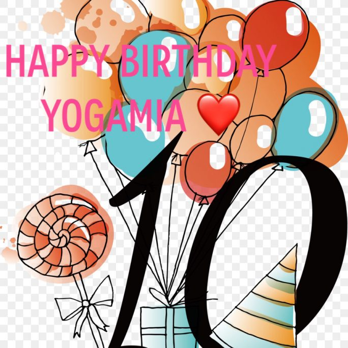 HAPPY BIRTHDAY YOGAMIA