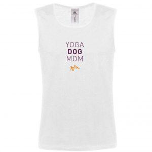 Tanktops Yoga Mom Dog